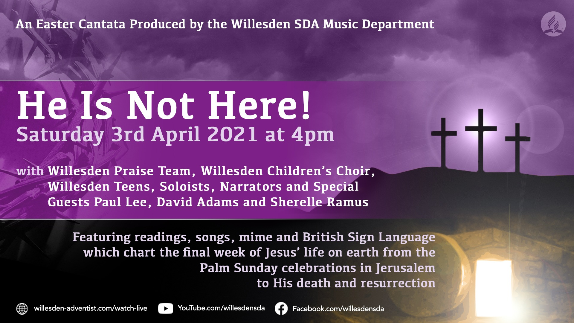 Easter Cantata Poster