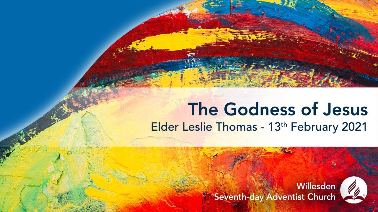 The Godness of Jesus